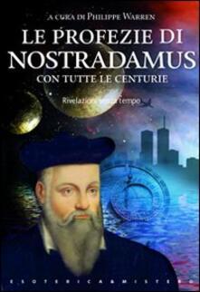 Tegliowinterrun.it Le profezie di Nostradamus Image