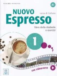 Listadelpopolo.it Nuovo espresso. Libro studente e libro esercizi. Vol. 1 Image