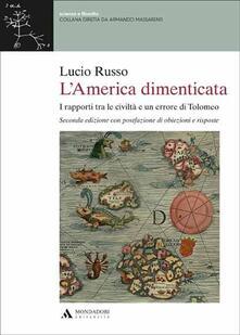 Antondemarirreguera.es L' America dimenticata. I rapporti tra le civiltà e un errore di Tolomeo Image
