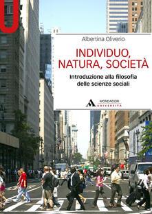 Squillogame.it Individuo, natura, società. Introduzione alla filosofia delle scienze sociali Image