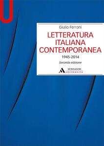 Letteratura italiana contemporanea 1945-2014