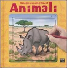 Letterarioprimopiano.it Animali. Disegna con gli stencil Image
