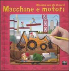 Radiospeed.it Macchine e motori. Disegna con gli stencil Image