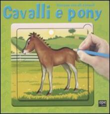 Festivalpatudocanario.es Cavalli e pony. Disegna con gli stencil Image