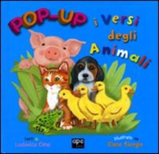 I versi degli animali. Libro pop-up