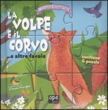 Antondemarirreguera.es La volpe e il corvo... e altre favole. Libro puzzle. Ediz. illustrata Image