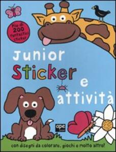 Junior sticker e attività