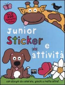Grandtoureventi.it Junior sticker e attività. Ediz. illustrata Image