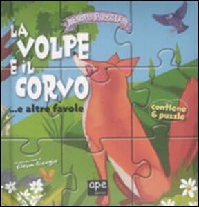 La volpe e il corvo... e altre favole. Libro puzzle