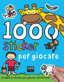 Antondemarirreguera.es 1000 sticker per giocare. Ediz. illustrata Image