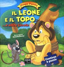 Secchiarapita.it Il leone e il topo.. e altre favole. Esopo puzzle. Ediz. illustrata. Con 6 puzzle Image
