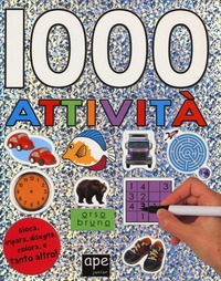 1000 attività. Con adesivi. Ediz. illustrata - - wuz.it