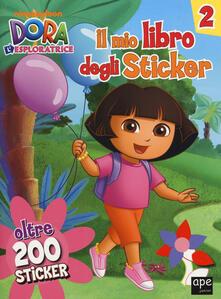 Winniearcher.com Il mio libro degli stickers. Dora l'esploratrice. Con adesivi. Ediz. illustrata. Vol. 2 Image