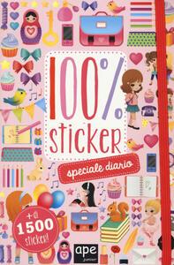 Speciale diario. 100% sticker. Con adesivi