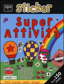 Antondemarirreguera.es Sticker. Super attività. Ediz. illustrata Image