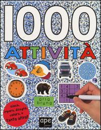 1000 attività. Con adesivi - - wuz.it