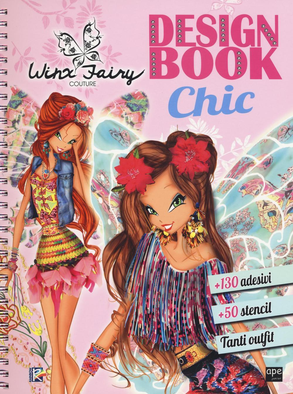 Design book chic winx fairy couture ediz illustrata for Decora la stanza delle winx