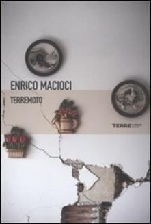 Terremoto - Enrico Macioci - copertina