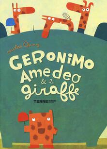 Geronimo Amedeo & le giraffe - Nicolas Gouny - copertina