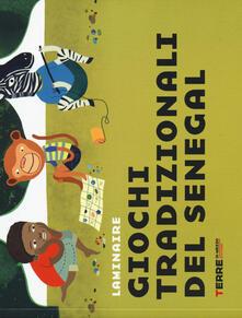 Giochi tradizionali del Senegal - Laminaire - copertina