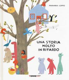 Una storia molto in ritardo - Marianna Coppo - copertina