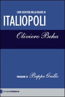 Italiopoli - Oliviero Beha - copertina
