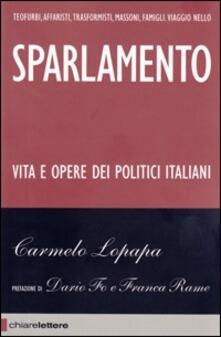 Sparlamento - Carmelo Lopapa - copertina