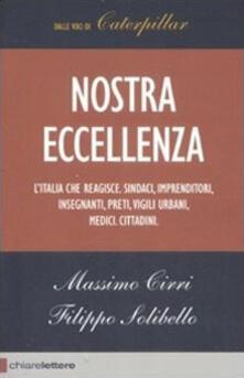 Nostra eccellenza - Massimo Cirri,Filippo Solibello - copertina