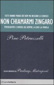 Libro Non chiamarmi zingaro Pino Petruzzelli