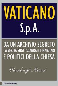 Foto Cover di Vaticano Spa, Libro di Gianluigi Nuzzi, edito da Chiarelettere