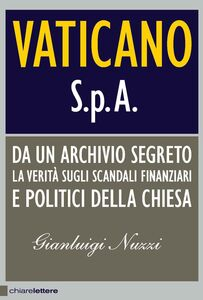 Libro Vaticano Spa Gianluigi Nuzzi