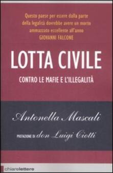 Lotta civile - Antonella Mascali - copertina