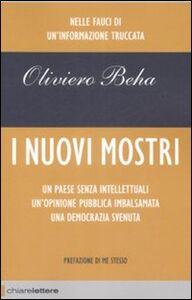 Libro I nuovi mostri Oliviero Beha