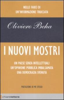 I nuovi mostri - Oliviero Beha - copertina