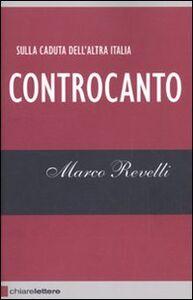 Libro Controcanto Marco Revelli