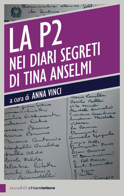 La P2 nei diari segreti di Tina Anselmi - Anna Vinci - ebook