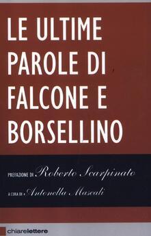 Premioquesti.it Le ultime parole di Falcone e Borsellino Image