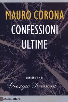 Confessioni ultime. Con DVD - Mauro Corona - copertina