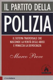 Il partito della polizia - Marco Preve - copertina