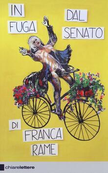 In fuga dal Senato - Franca Rame - copertina