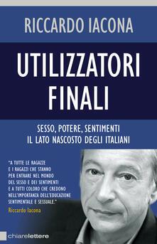 Utilizzatori finali - Riccardo Iacona - copertina
