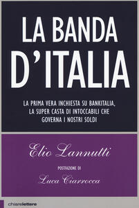 La banda d'Italia - Elio Lannutti - copertina