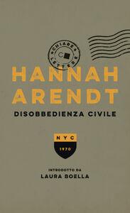 Libro Disobbedienza civile Hannah Arendt