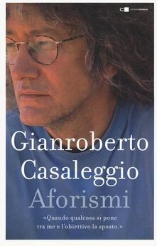 Aforismi - Gianroberto Casaleggio - copertina