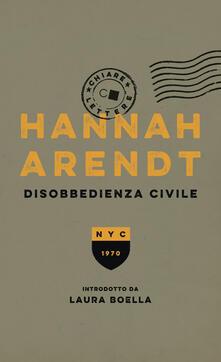 Disobbedienza civile - Valentina Abaterusso,Hannah Arendt - ebook