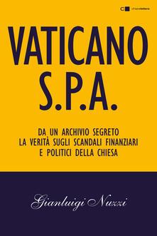 Vaticano Spa - Gianluigi Nuzzi - copertina