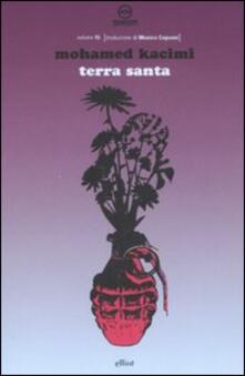 Terra Santa - Mohamed Kacimi - copertina