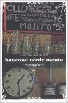 Bancone verde menta - Simona Baldanzi - copertina