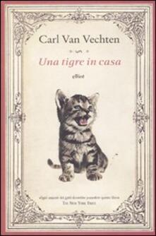 Una tigre in casa - Carl Van Vechten - copertina