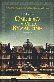 Omicidio a villa Byzantine - R. T. Raichev - copertina